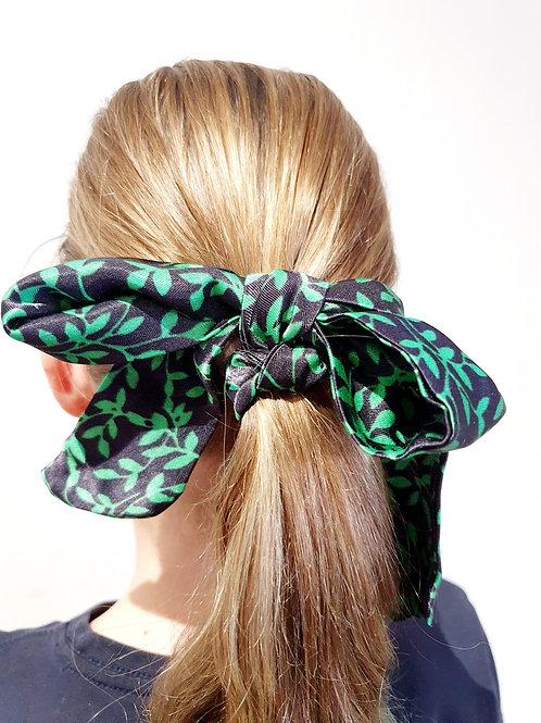 Ponytail  Bows- leaf