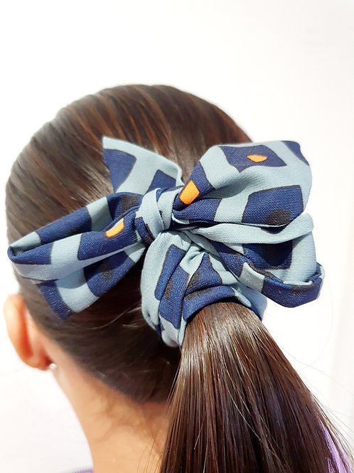 Ponytail bows- grey