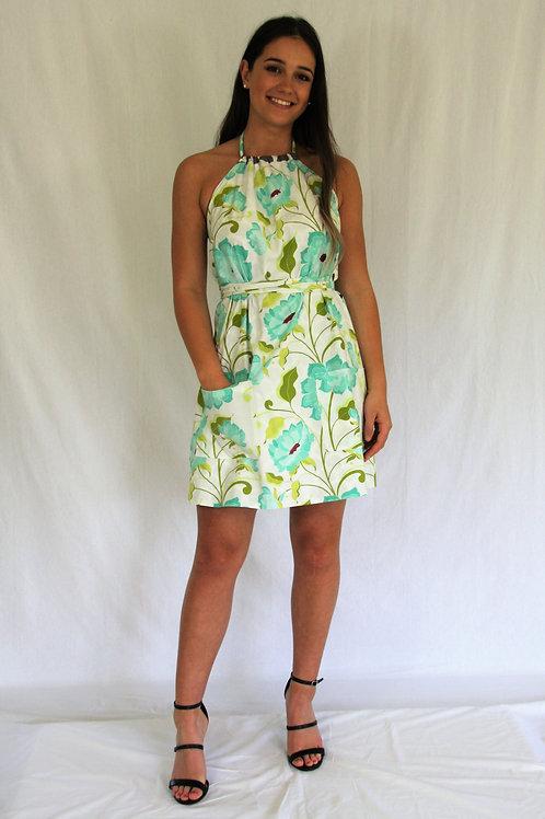Sommer Dress - White Floral