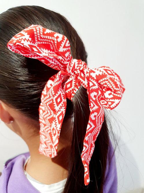 Ponytail Bows- Aztec