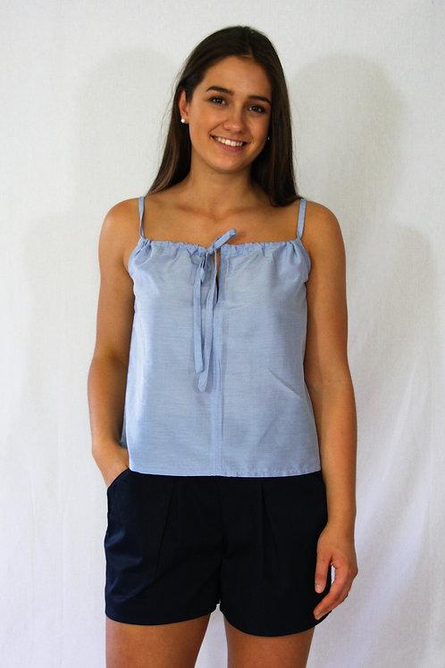 Melissa Singlet - Blue