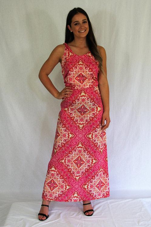 Davina Dress- Pink