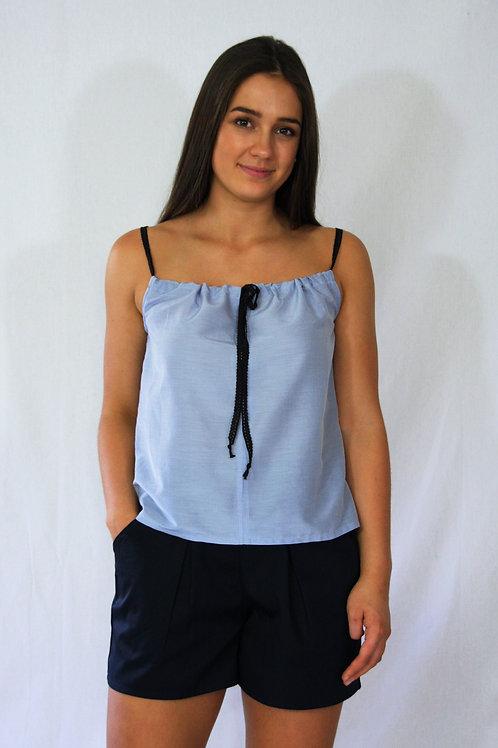 Melissa Singlet - Blue Lace
