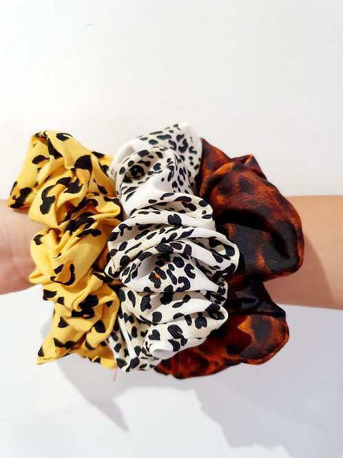 Large Scrunchies- animal