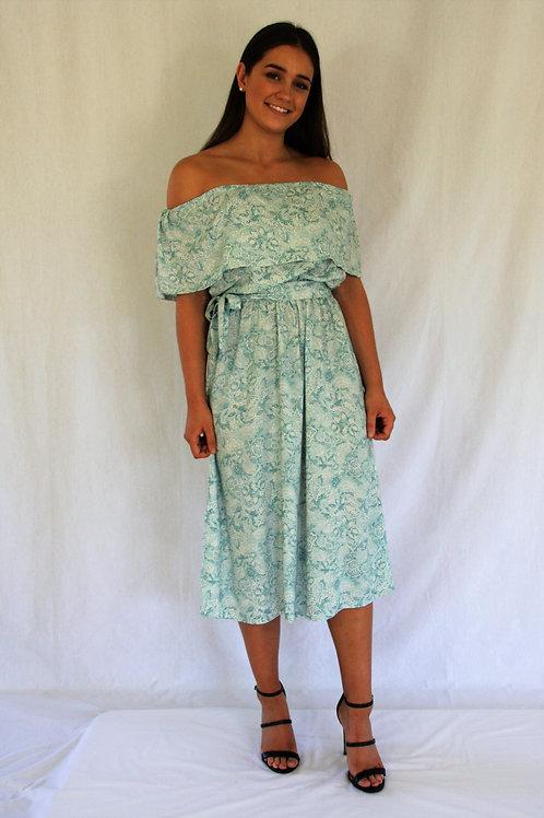 Celeste Dress - Teal