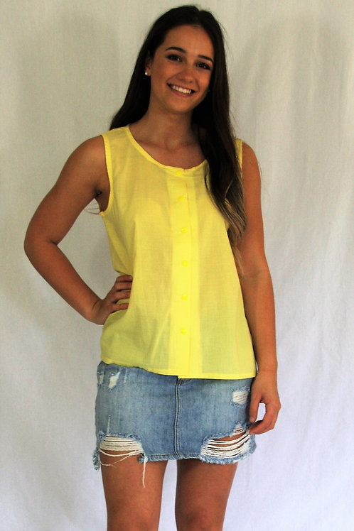 Betty Singlet - Lemon