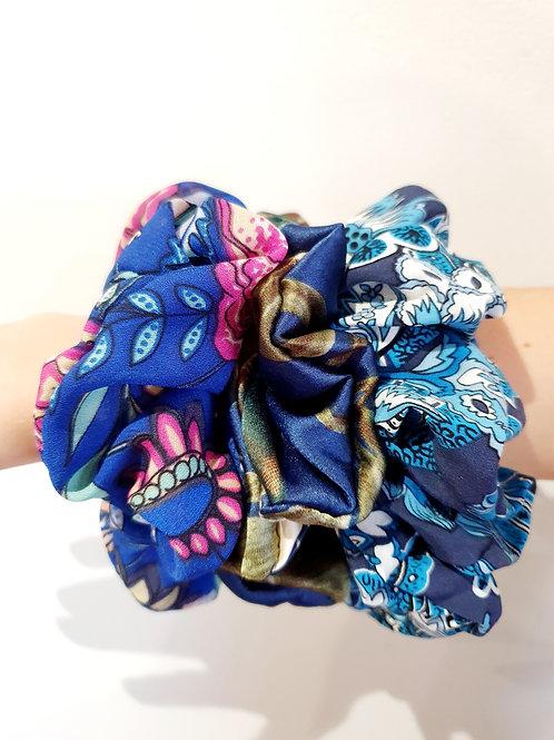 Large Scrunchies- floral