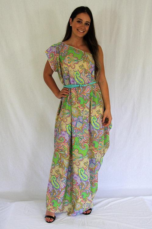 Sari Dress - Paisley