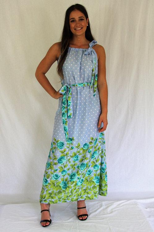 Stephanie Dress - Blue
