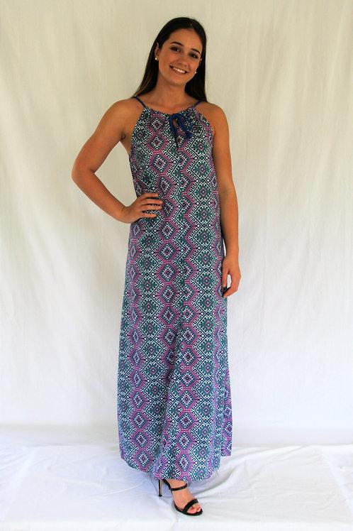 The Caz  Dress - Aztec
