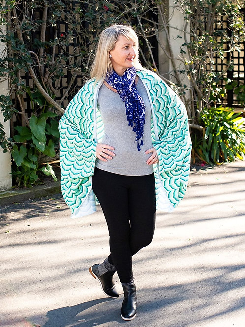 Cardigan Cape - Leaf