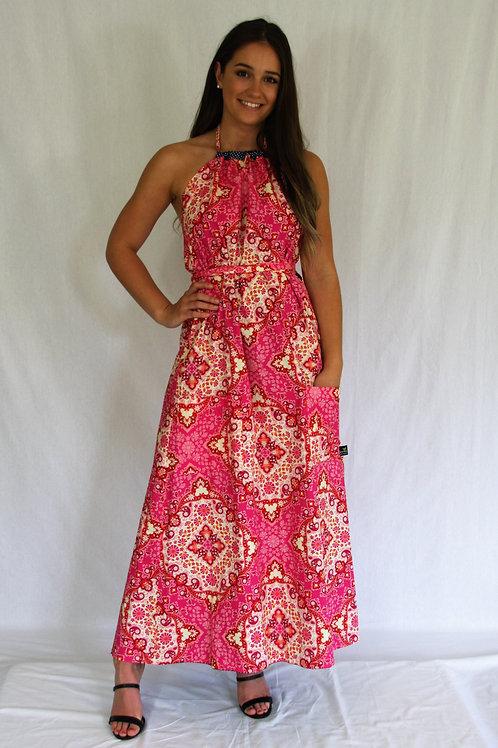 Sommer Dress (maxi) -Rose