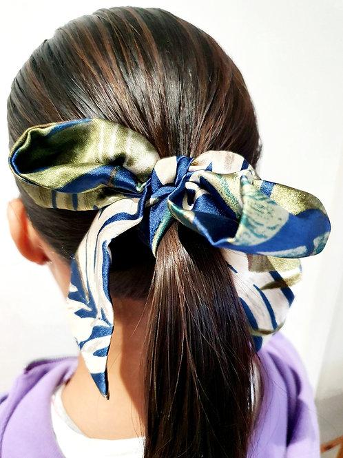 Ponytail  Bows- Fern