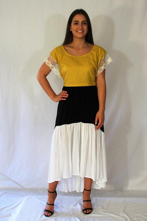 Spanish Skirt - Two Tone