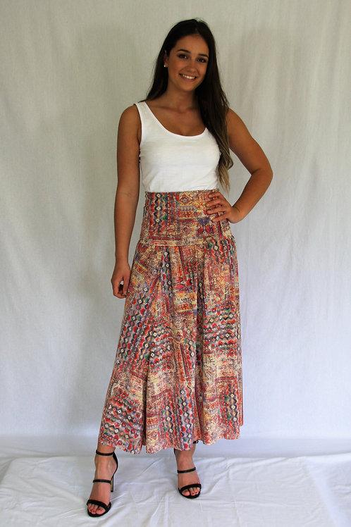 Maxi Silvia Skirt - Aztec