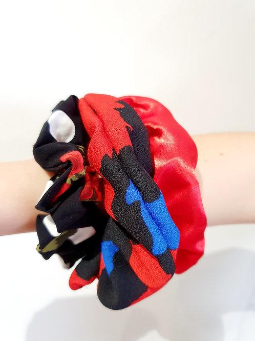 Medium Scrunchies- Reds