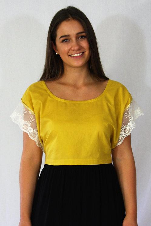 Emma Top - Mustard