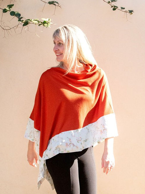 Boarded Poncho Classic - Mint