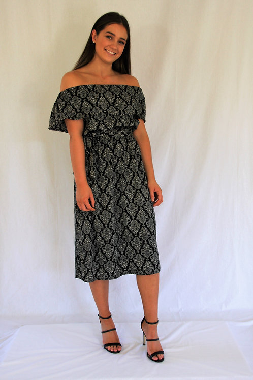 Celeste Dress -Black