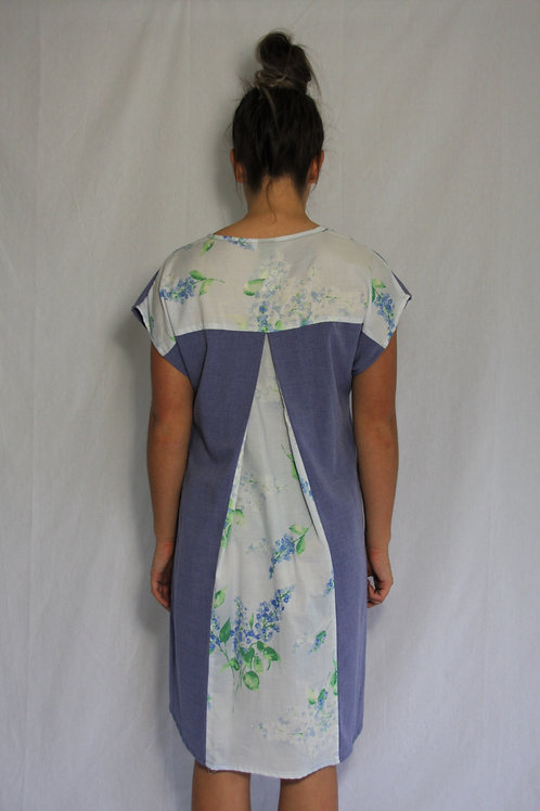 Tonya Dress - Periwinkle