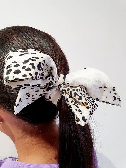 Ponytail Bows- Leopard