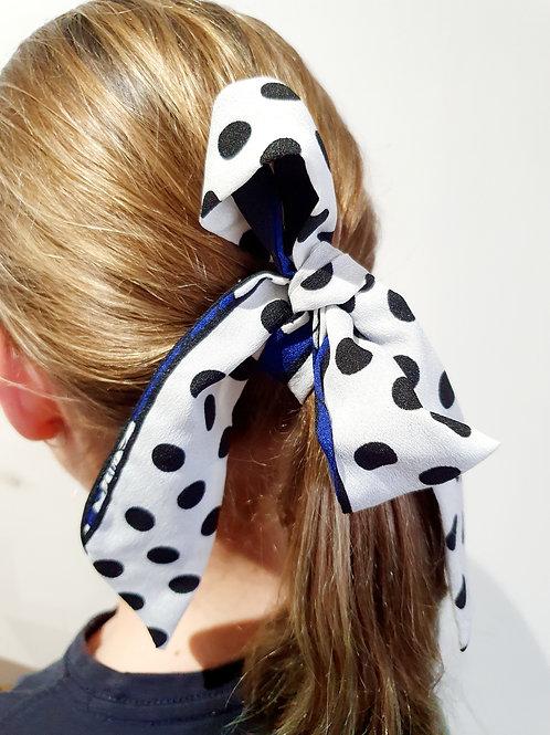 Ponytail Bows- Spots & Stripes
