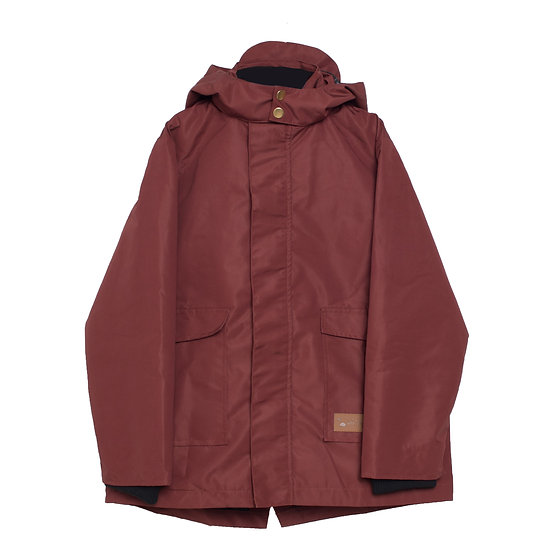 CLASSIC RED SWISS SPACE DOGS COAT