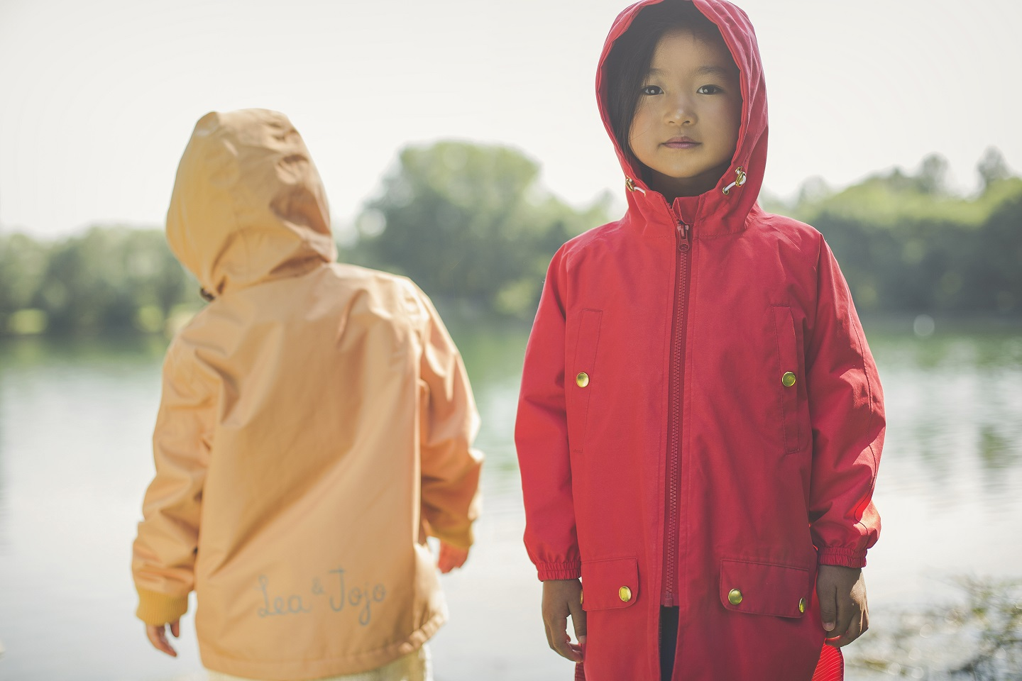 red coat and yellow coat recycled