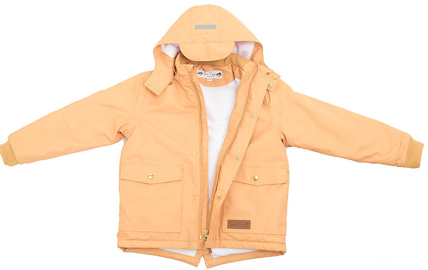 ADULT LENNY YELLOW BROWN COAT