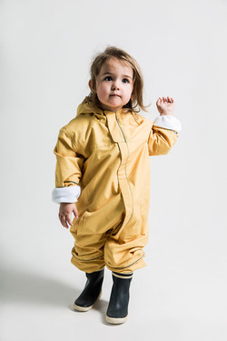 yellow overall recycled
