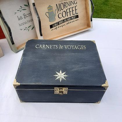 Boite Carnets de Voyages