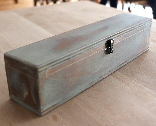 Boite rectangulaire en bois