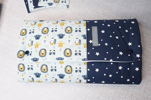 Tapis à langer Nomade senga - pochette à couches intégrée