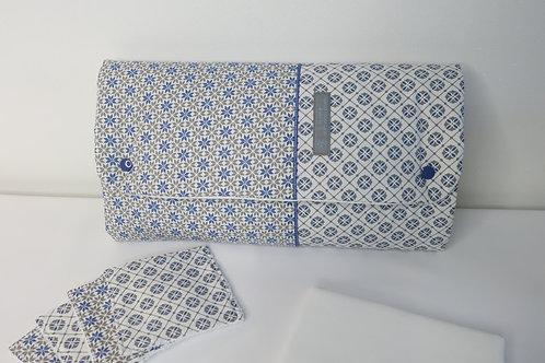 Tapis à langer Nomade Gaspard - pochette à couches intégrée