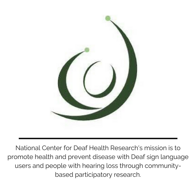 National Center for Deaf Health Research