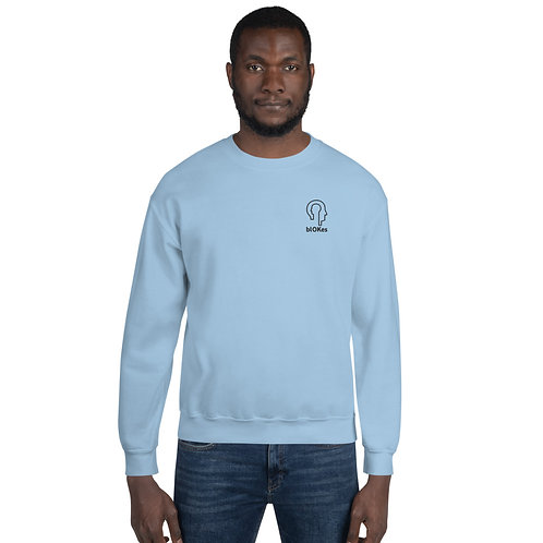 blOKes Sweatshirt | Light Blue & Sports Grey