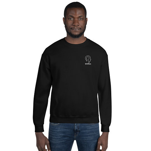 blOKes Sweatshirt   Black, Dark Heather, Navy & Indigo Blue