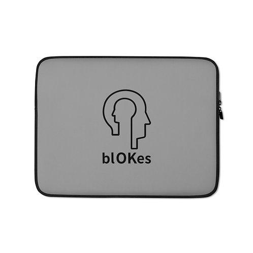 blOKes Laptop Sleeve - Grey