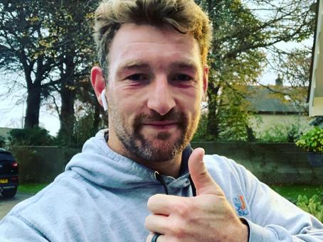 Matt Jess raises £1,000 for blOKes!