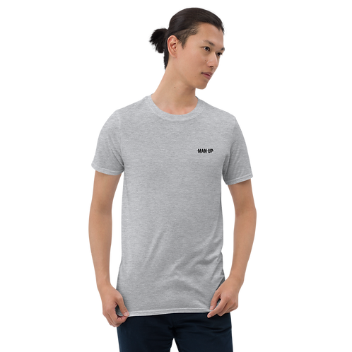 blOKes M̶A̶N̶ ̶U̶P̶ Tee | Sports Grey & White