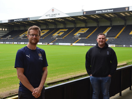 blOKes and Notts County Foundation launch #MinutesForMates campaign