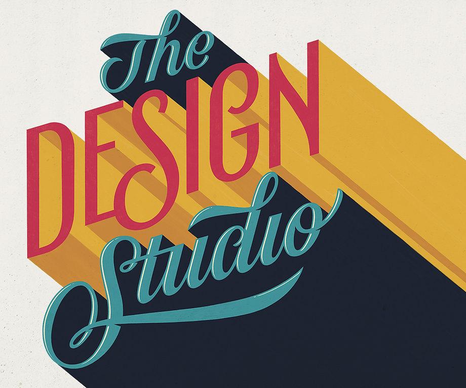 The Design Studio Lettering Mural Vini Vieira