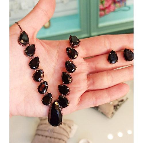 Conjunto pedra negra