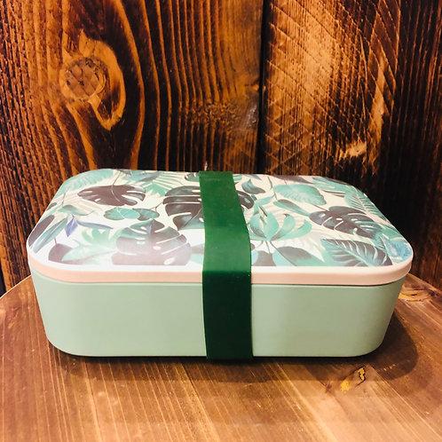 Botanical Jungle Bamboo Lunch Box