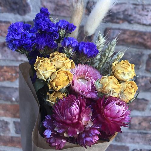 Multicolour Dried Flower Bouquet