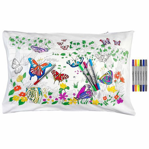 Colour-in Pillow Cover