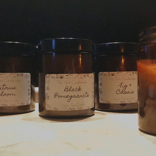 Three Soy Wax Candles by The York Candlemaker
