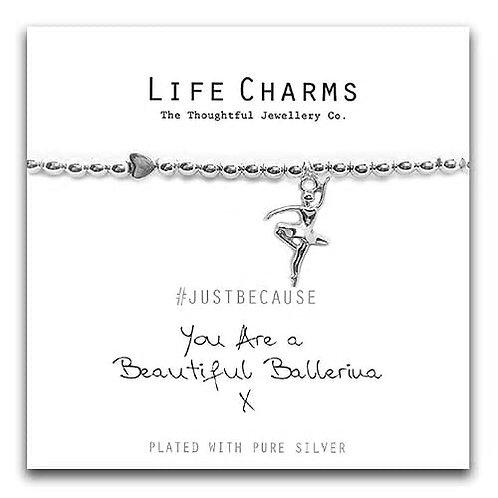 You Are A Beautiful Ballerina Bracelet