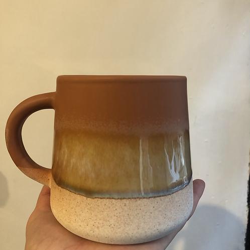 Mojave Glaze Brown Mug