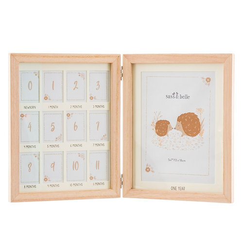 Woodland Baby First Year Multi Photo Frame